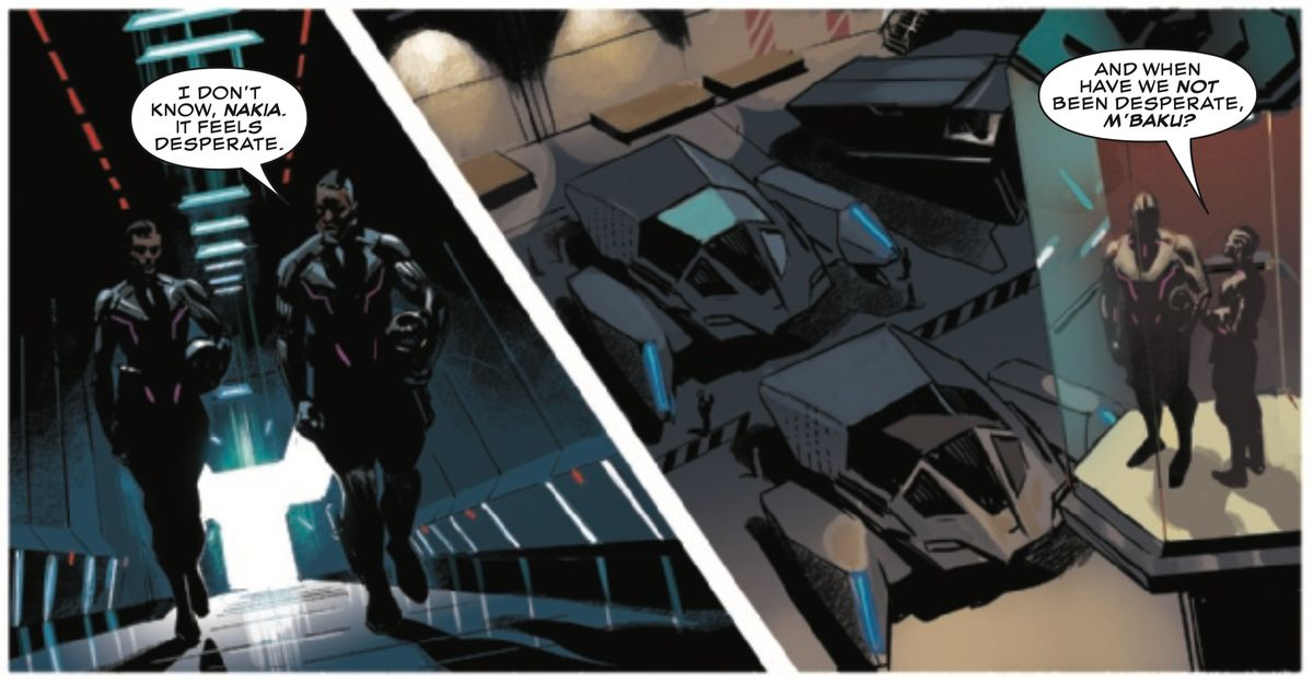 From Black Panther #1, Marvel Comics (2018).