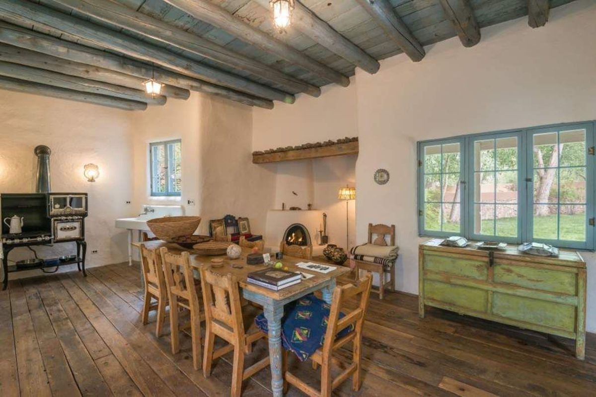 rustic adobe home asks  895k in santa fe