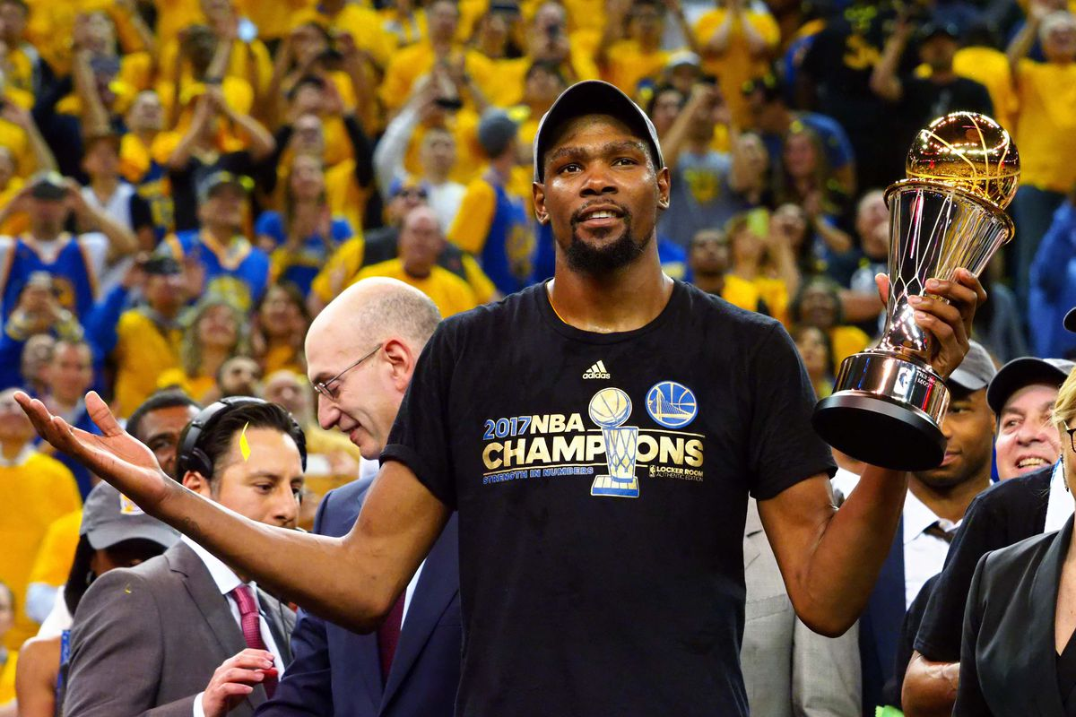 c3ce7131a94 Share Kevin Durant wins first NBA Championship with Golden State Warriors.  tweet share Reddit Pocket Flipboard Email. Kelley L Cox-USA TODAY Sports