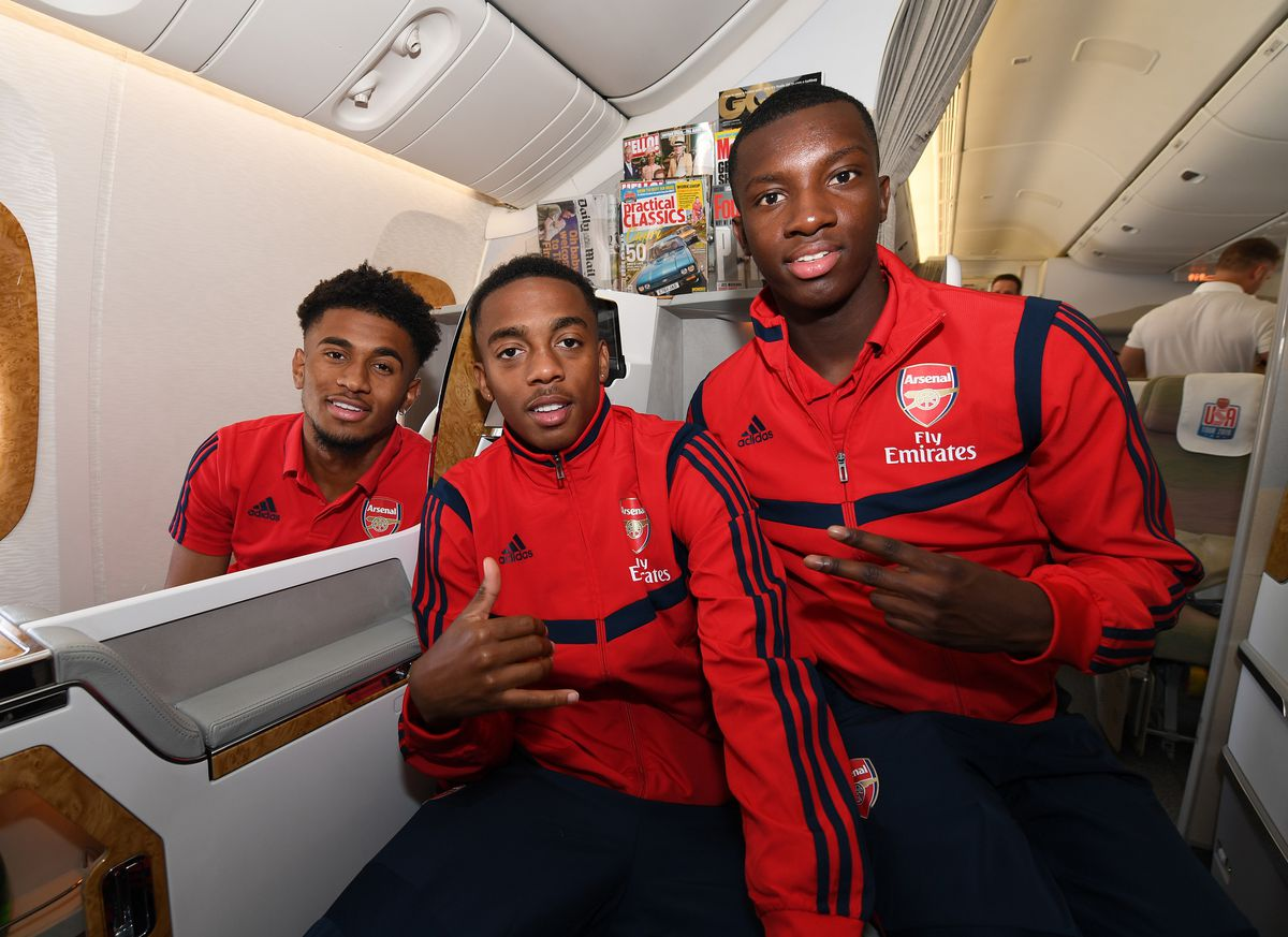 Arsenal Players Depart for Their Pre-Season Tour of the United States