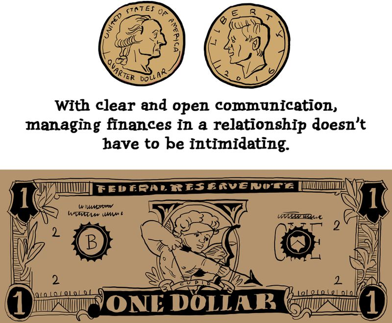 With clear and open communication, managing finances in a relationship doesn't have to be intimidating.