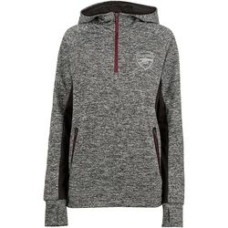"""<a class=""""ql-link"""" href=""""https://arsenaldirect.arsenal.com/Clothing/Sweatshirts/Arsenal-Womens-Leisure-1-4-Zip-Hoody/p/N01906"""" target=""""_blank"""">Arsenal quarter-zip hoodie, womens</a>. You can never have enough warm, comfy clothes. For the Gooner who is often cold (again). From Arsenal.com."""