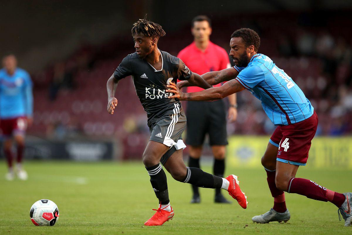 Scunthorpe United v Leicester City - Pre-Season Friendly - Glanford Park