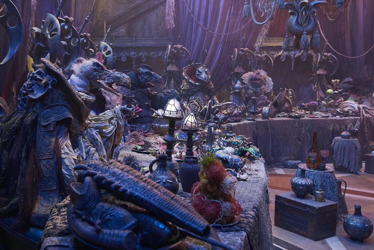 a banquet in dark crystal age of resistance