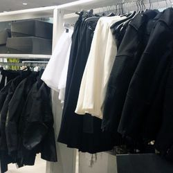 Note that some of the regular Alexander Wang-ish H&M merch may be mixed in with the collab pieces.