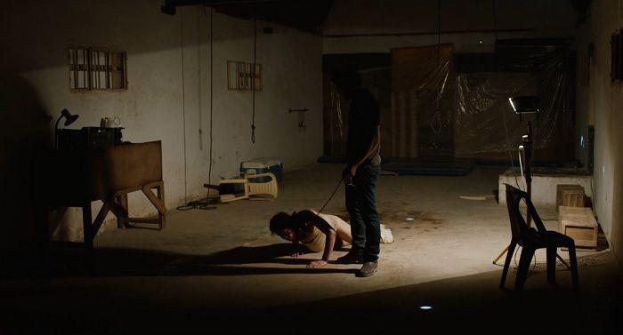 A torture scene in 'Zero Dark Thirty'