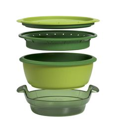 This product image courtesy of Tupperware shows the Tupperware SmartSteamer. Tupperware, it seems, is enjoying a renaissance 65 years after it first hit the market with Wonder Bowls, Bell Tumblers and Ice-Tup molds for homemade frozen treats.