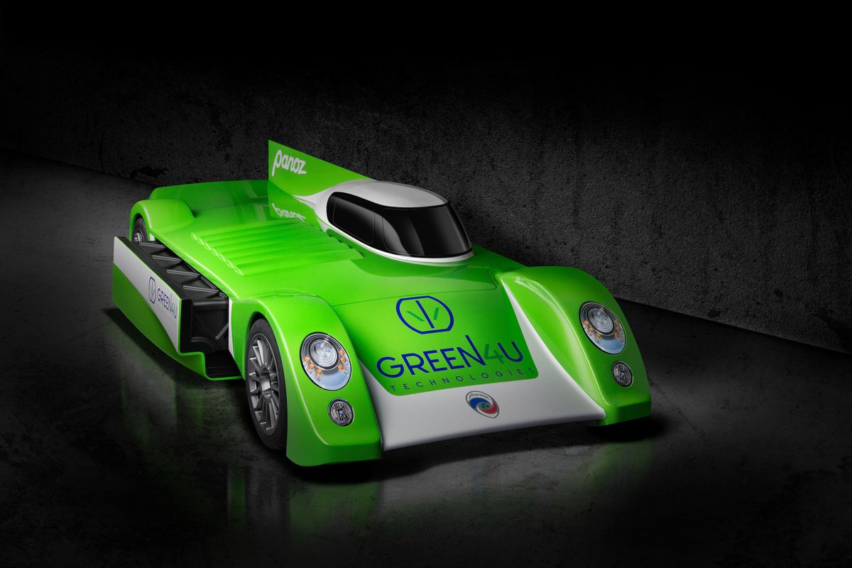 Panoz unveils all-electric GT project for Le Mans