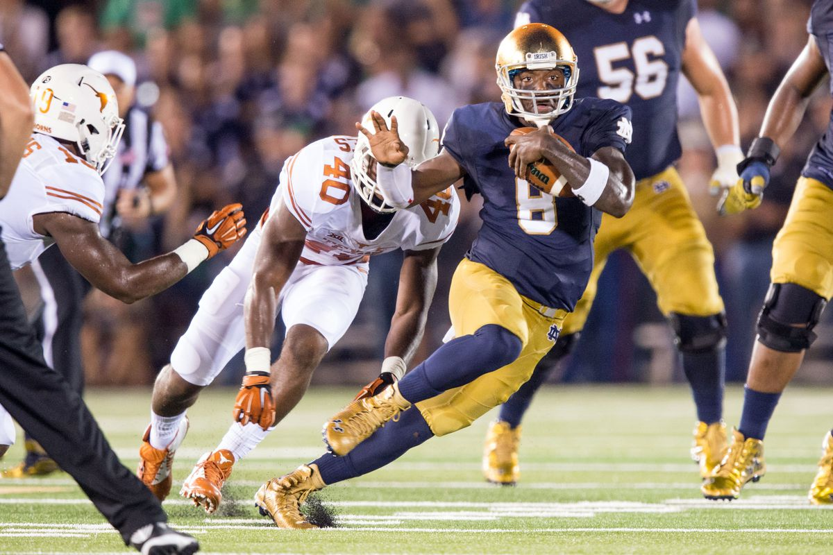 Remember when Notre Dame's Malik Zaire was an absolute magician?