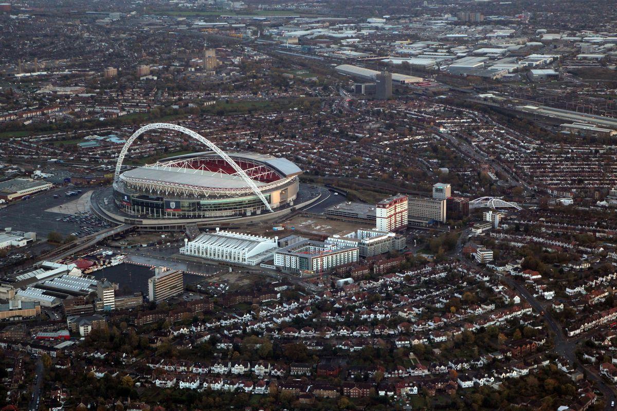 General Aerial Views Across London
