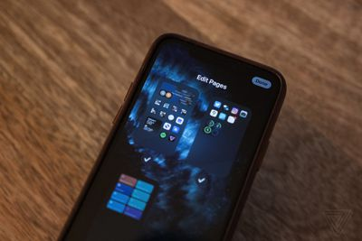 You can turn entire home screen pages on or off depending on your mood in iOS 14