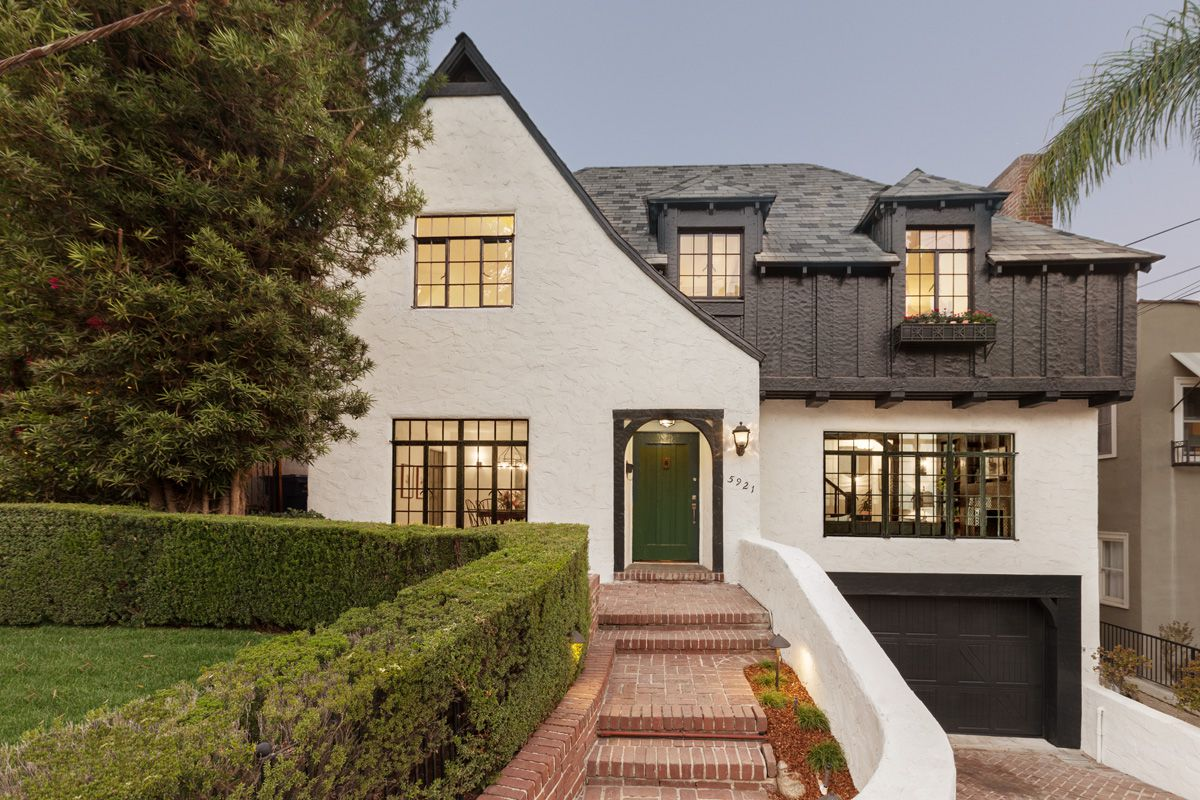 Beautifully Updated 1940s Tudor Revival In Beachwood Canyon