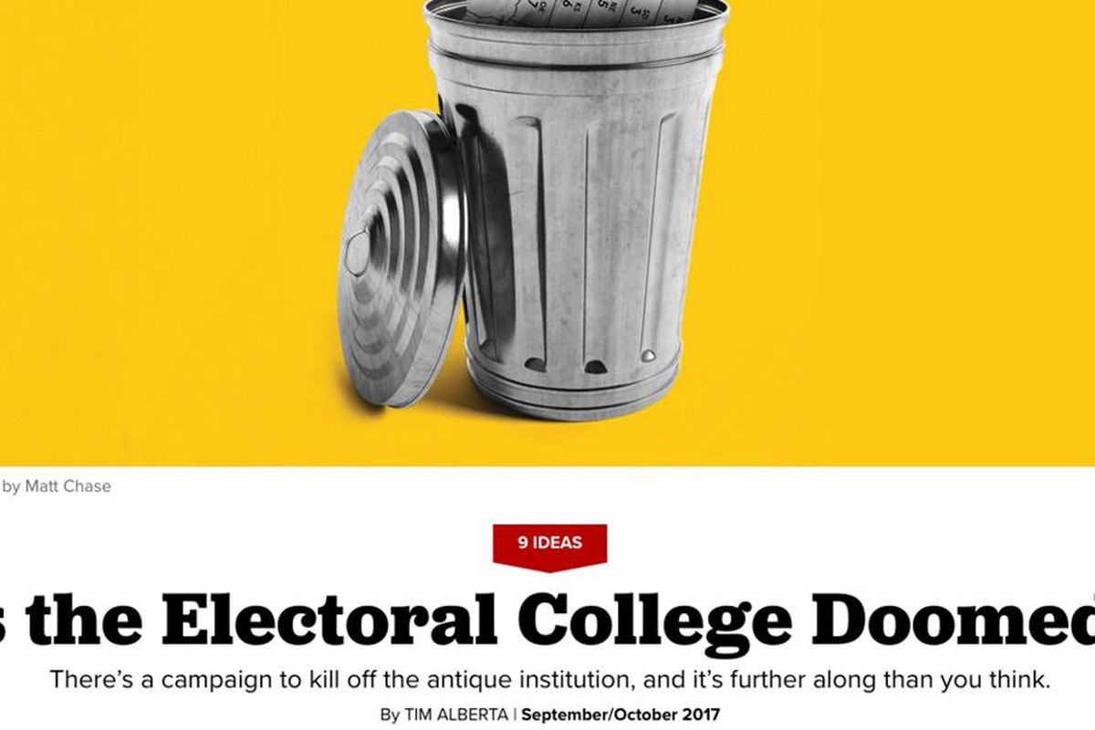There's a plan to kill the Electoral College, and Utah