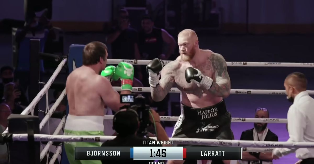 Missed Fists: Game of Thrones 'Mountain' wins boxing match, Pavel Pinzul scores 4-second knockout, more