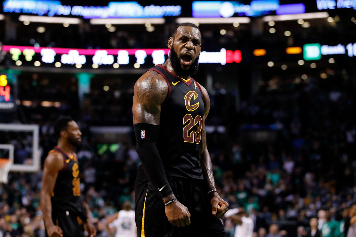 reputable site 92085 cd2d2 LeBron James is back in the NBA Finals, the only place he belongs
