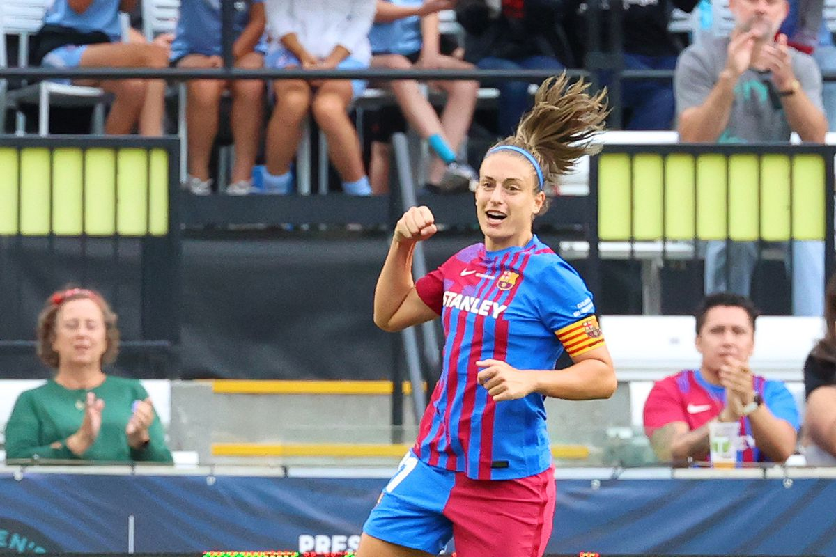 FC Barcelona v Houston Dash: Third Place Game - 2021 Women's International Champions Cup