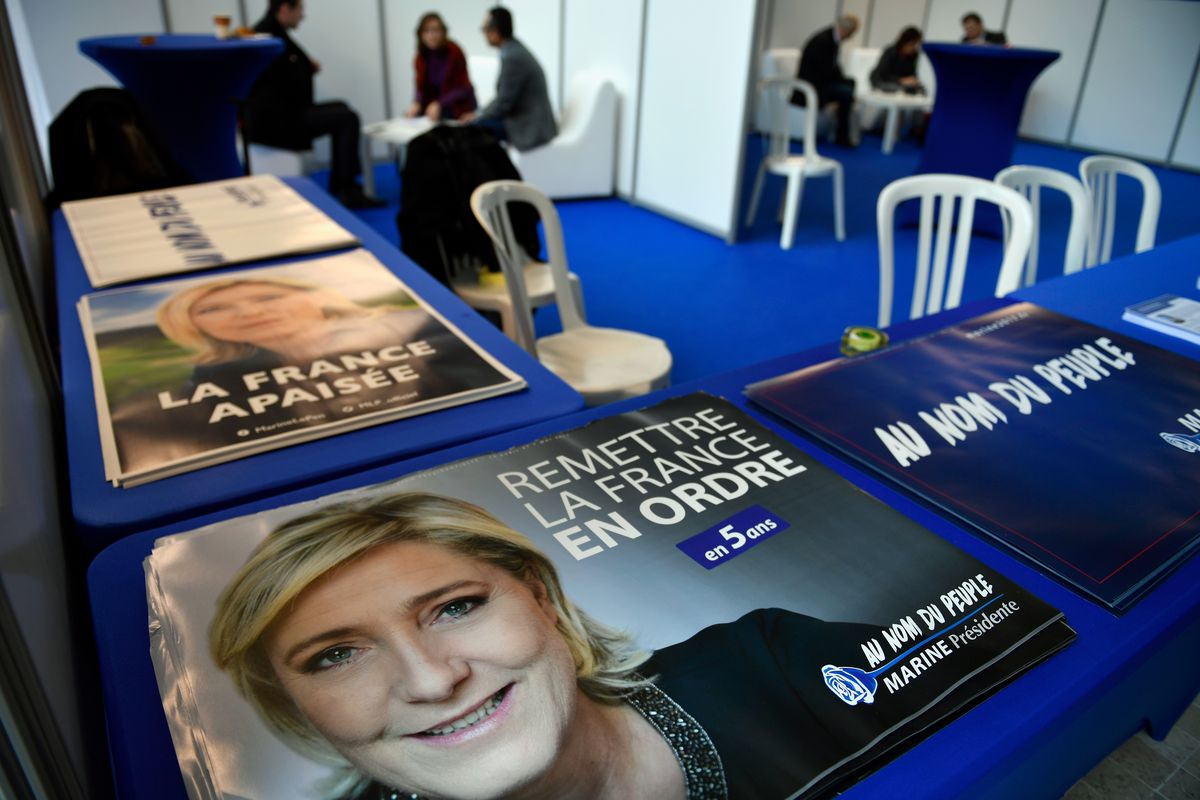 French Presidential Elections - The Launch Of The Marine Le Pen Campaign
