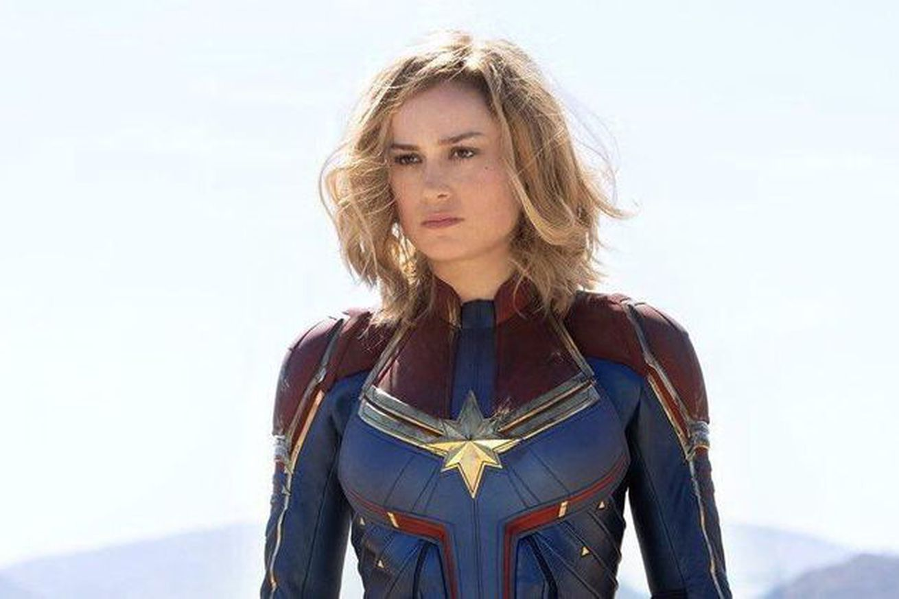 watch the first trailer for captain marvel marvel s next big film