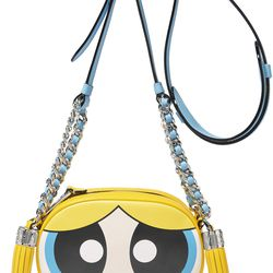 Feeling herself Bubbles. (Amazing work with the tassels as pigtails, Moschino.)