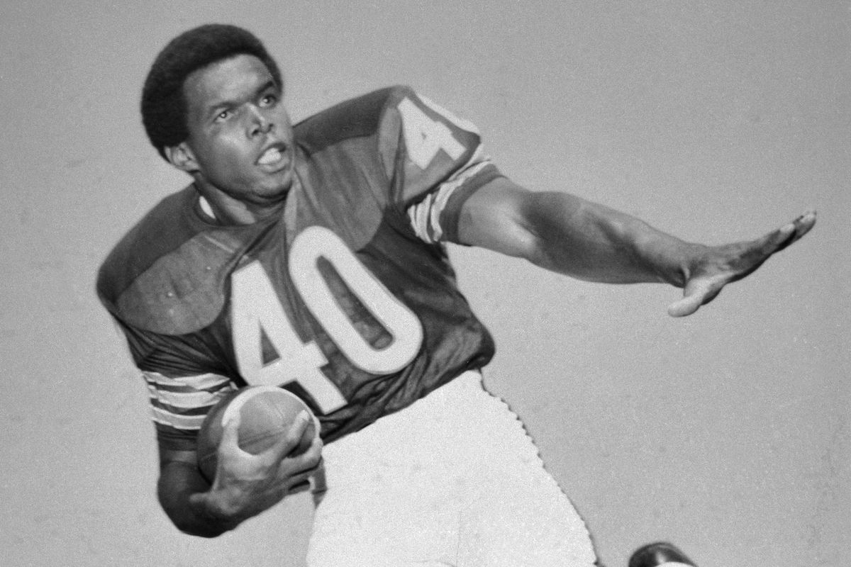 Portrait of the Chicago Bears' Gale Sayers