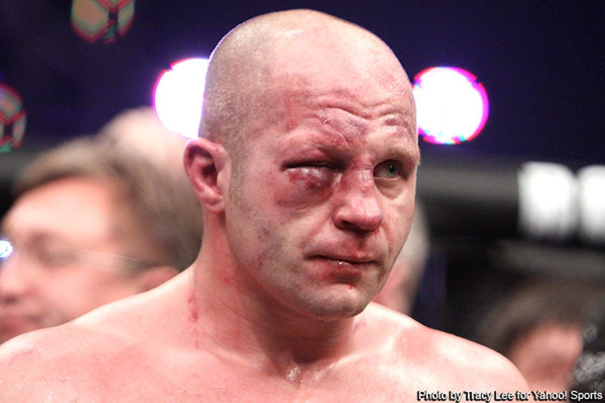 Military Time Clock >> Strikeforce: Fedor Emelianenko's Eye After Losing to ...