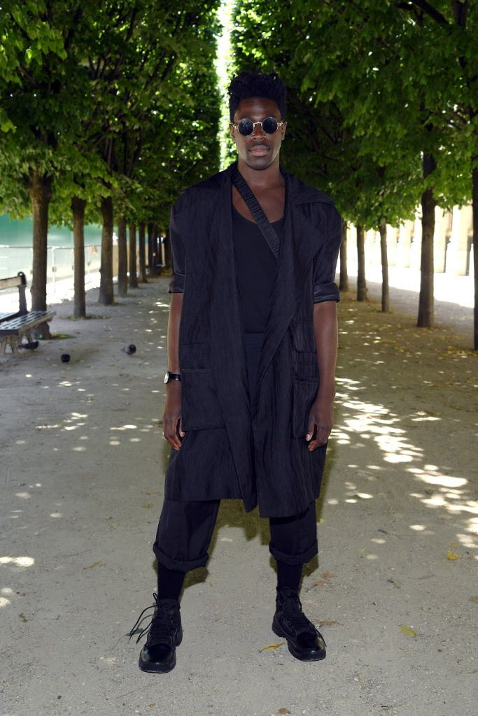 """""""My entire time living in San Bernardino, I would only listen to country music. I have no idea where I got it from. Not old country — it was Garth Brooks and Randy Travis and Martina McBride,"""" says Moses Sumney, who professes an """"encyclopedic knowledge"""" o"""