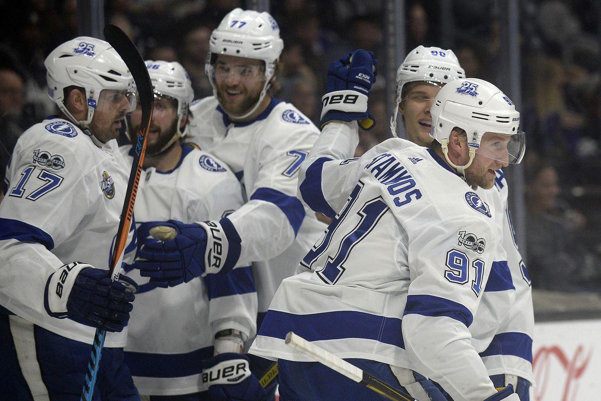 NHL: Tampa Bay Lightning at Los Angeles Kings