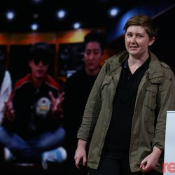 """Vox Senior Video Producer Estelle Caswell took the stage for a fascinating presentation on how a single chord, first created by Igor Stravinsky in the early 1900s, became a ubiquitous marker of '80s hip-hop music. She also talked about her work on Vox's Netflix show, <em>Explained</em>'s, episode all about K-Pop. Watch the <a href=""""https://www.recode.net/2018/5/30/17386400/estelle-caswell-vox-spotlight-code-conference-explained-eighties-music-hip-hop"""">full presentation here</a>."""
