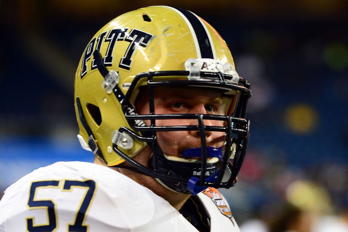 Artie Rowell helped pave the way for Pitt on Saturday.