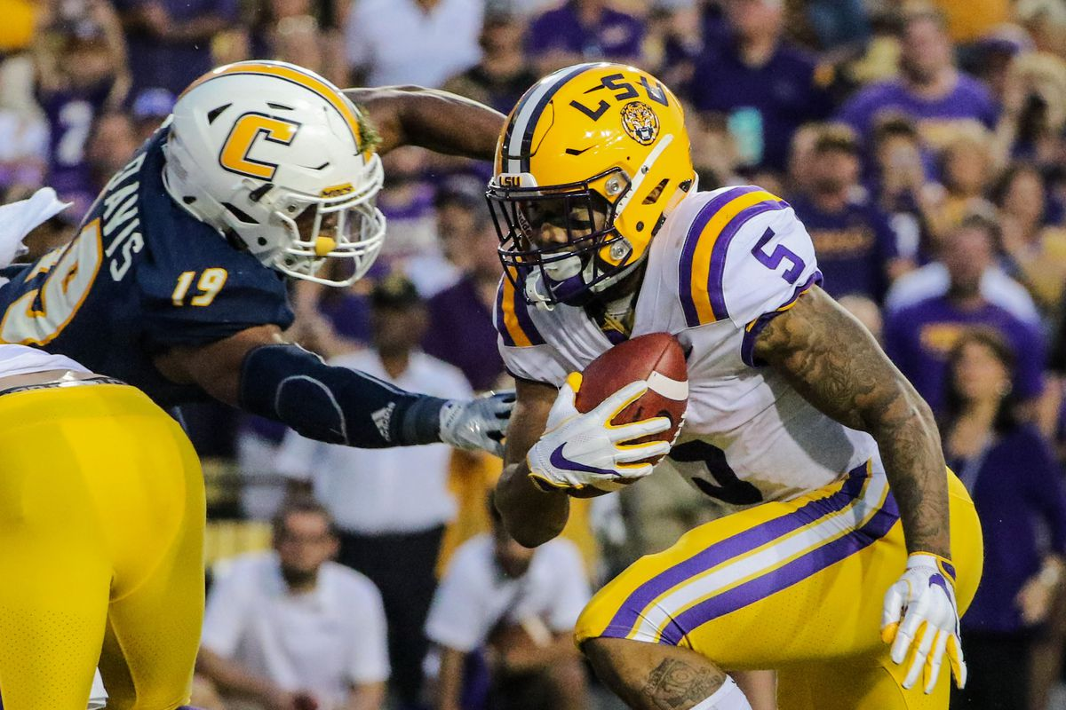 NCAA Football: Chattanooga at Louisiana State