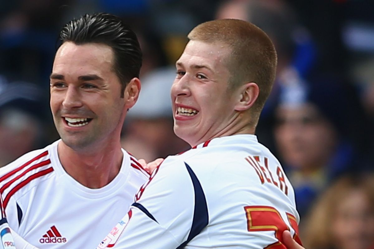 Chris Eagles in happier times