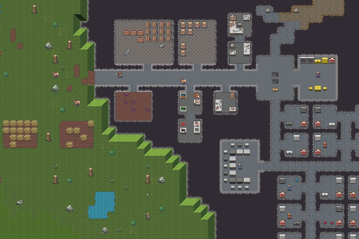 More examples of the art coming to Dwarf Fortress on Steam.