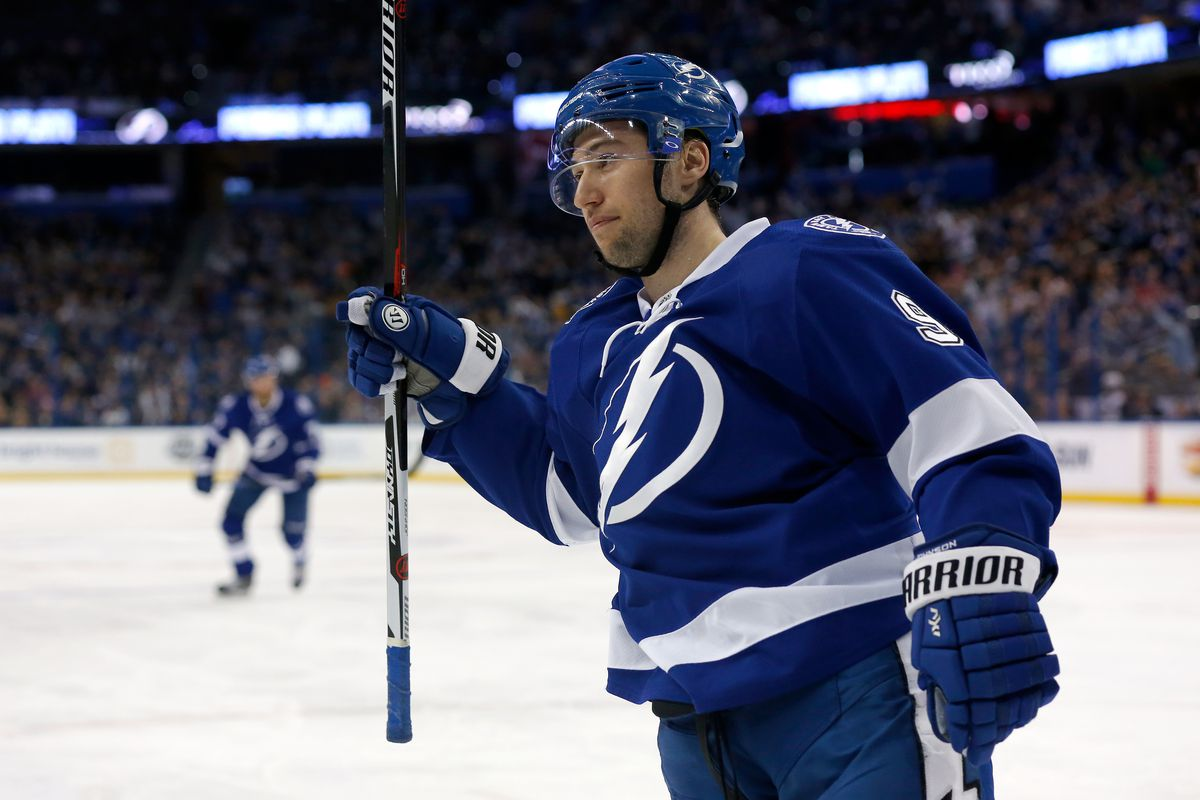 Tyler Johnson re-signs with Lightning on 7-year, $35 million contract