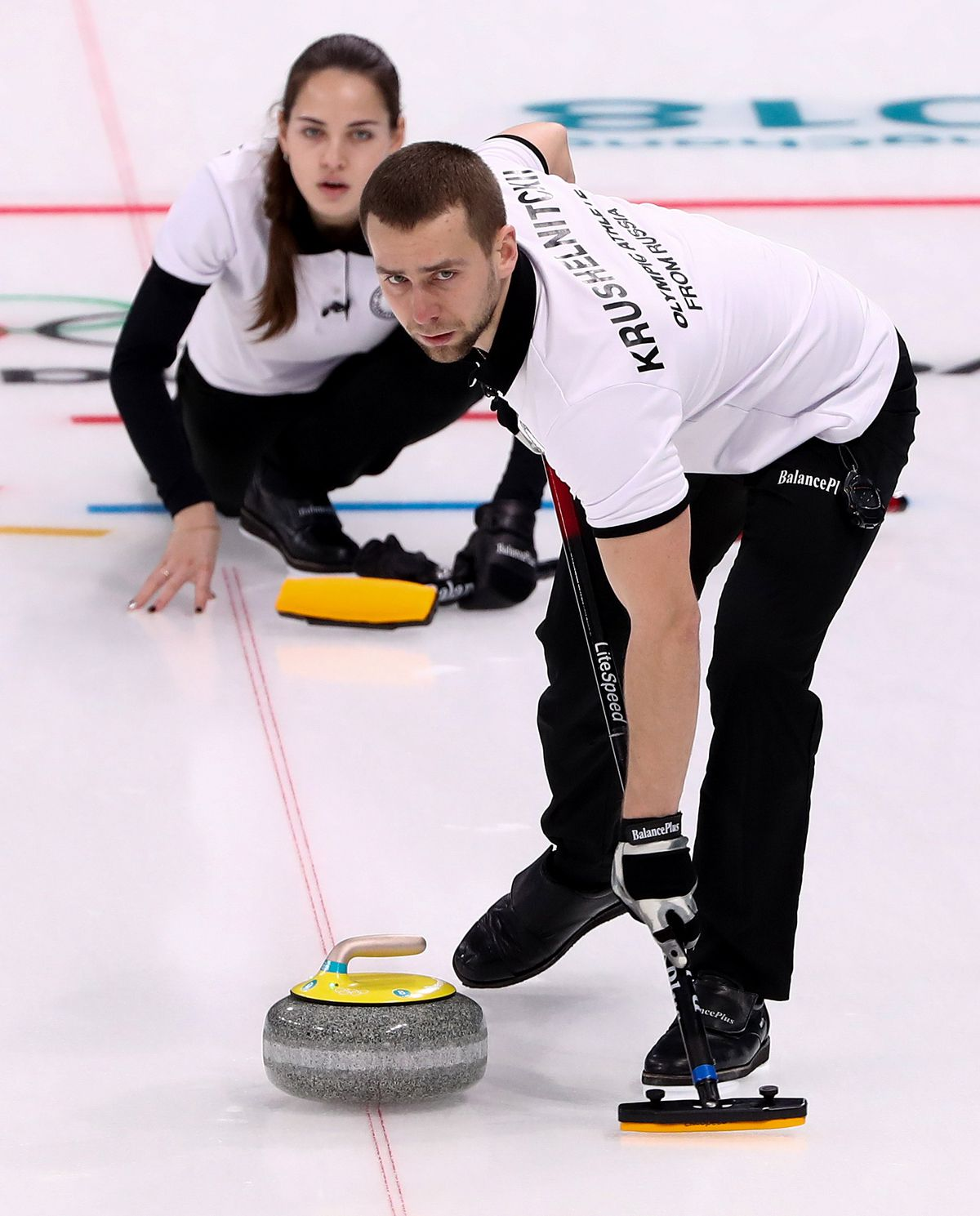 2018 Winter Olympic Games, Curling, Mixed Doubles: South Korea 5 - 6 OAR