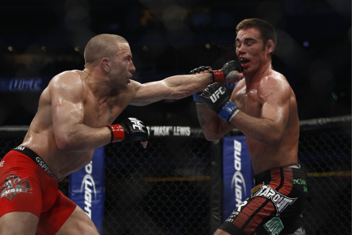 UFC 129 results: Georges St. Pierre vs Jake Shields fight review and analysis - MMAmania.com