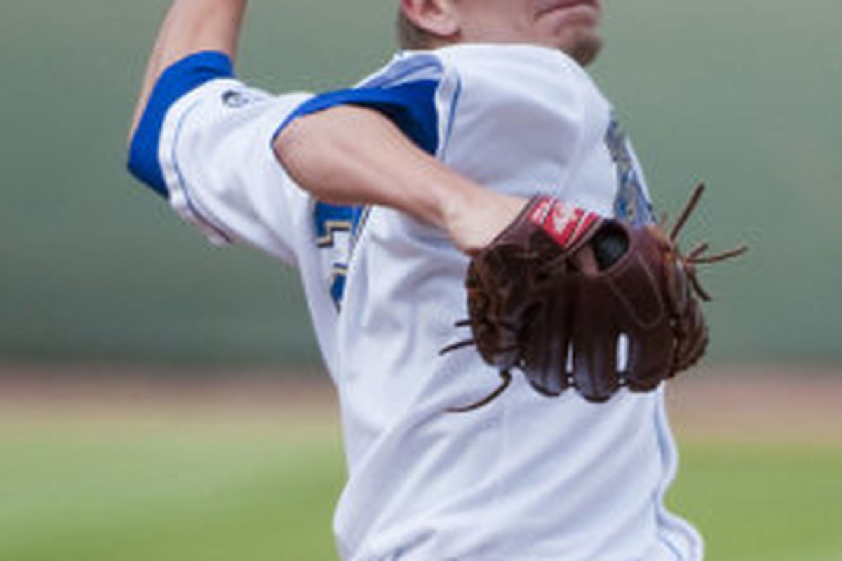 Rob Rasmussen's strong start finished off a weekend in which UCLA had a team ERA of 1.33 (Photo Credit: Official Site)