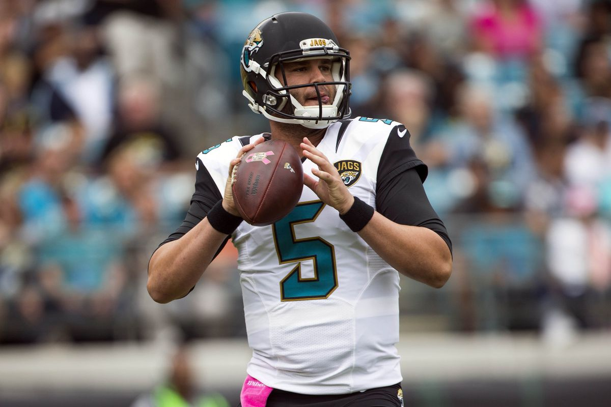 Jonathan Loesche is the President of the Blake Bortles Fan Club. #Bortled