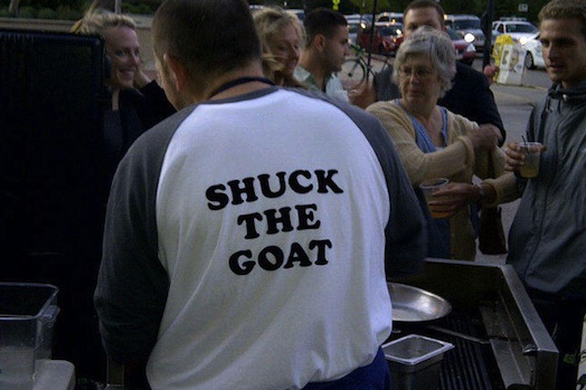 Tentori's Shuck The Goat Shirt