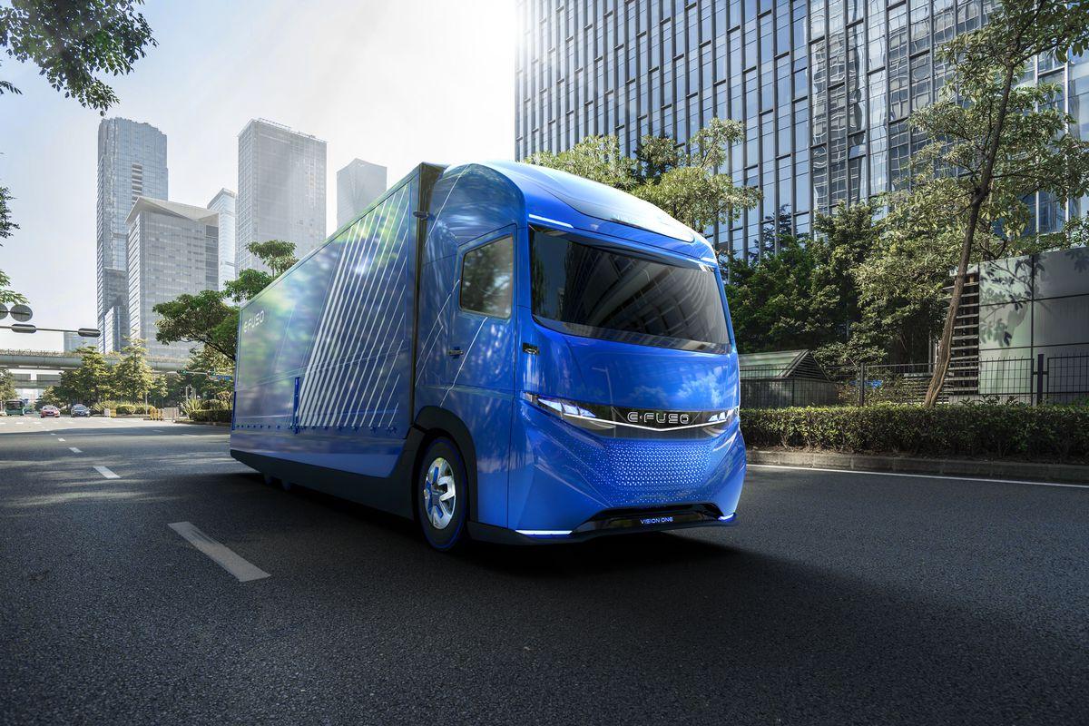 E Fuso Vision One Daimler