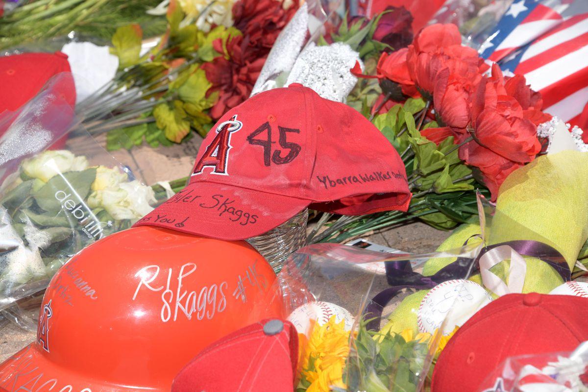 MLB: Tyler Skaggs Memorial