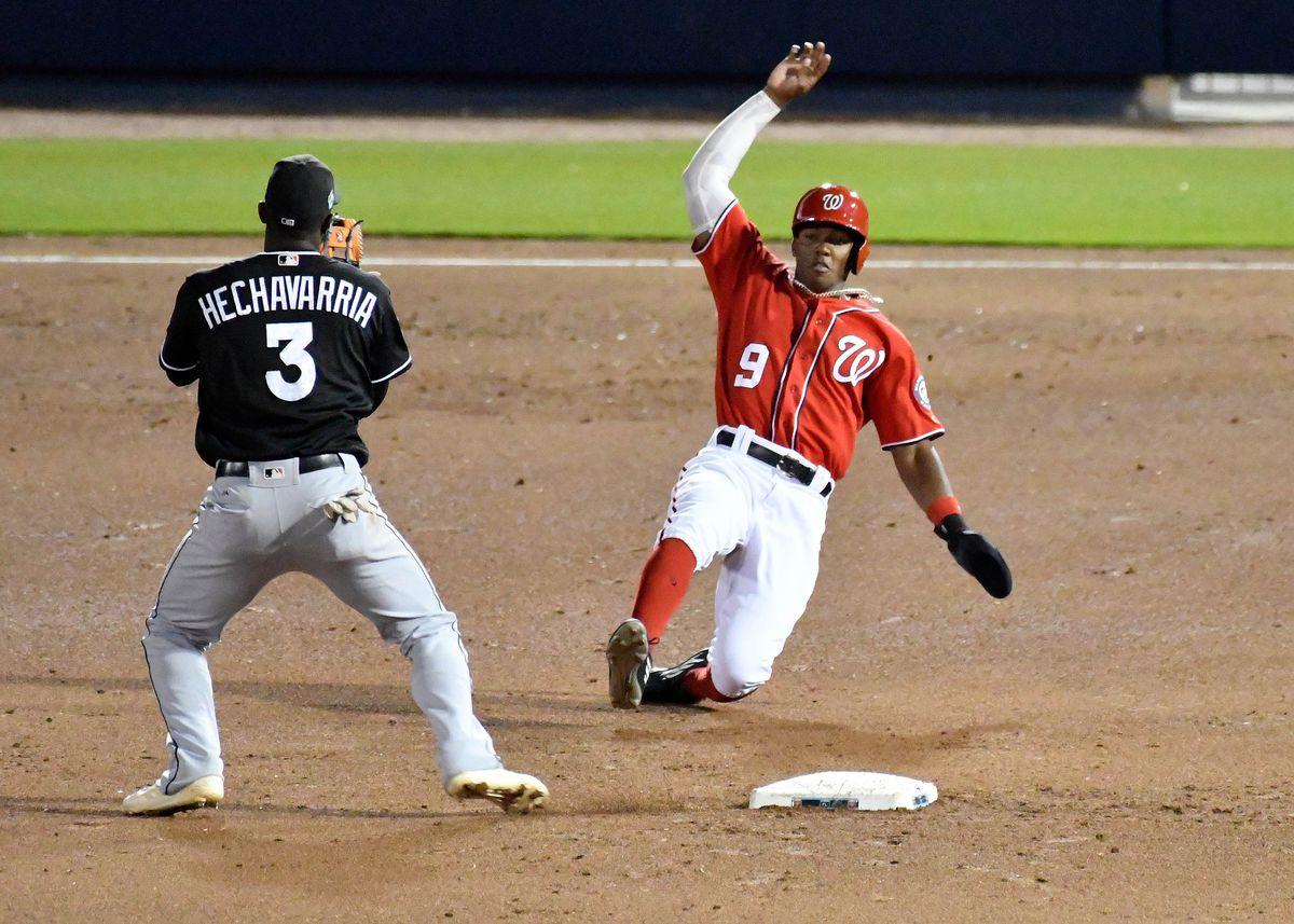 MLB: Spring Training-Miami Marlins at Washington Nationals