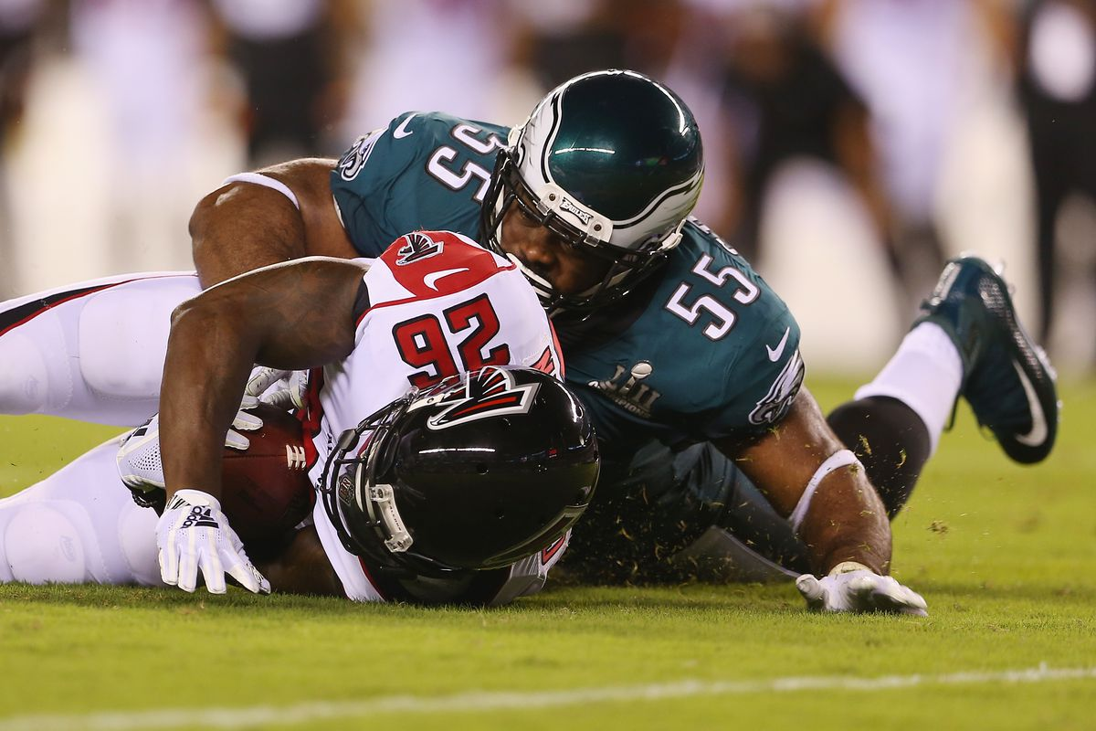 "0e482fece Eagles News  Brandon Graham thinks he s going to have a ""good day"" against  the Colts  right tackle"