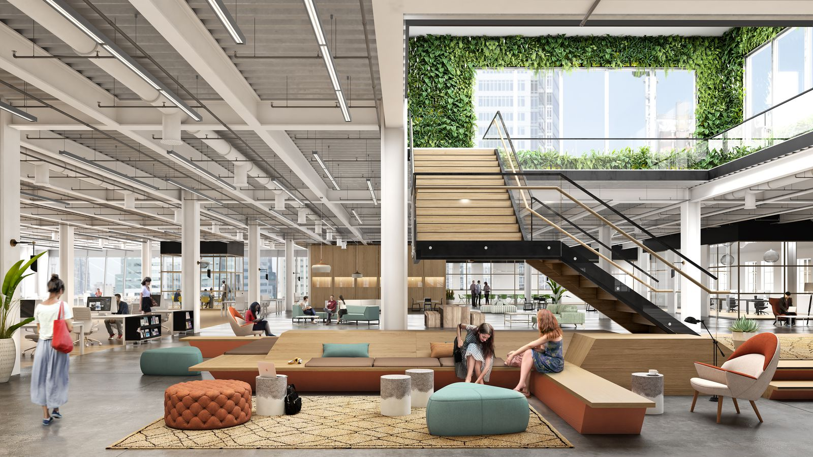 Downtown brooklyn s macy s will sprout creative office hub - Affordable interior design seattle ...