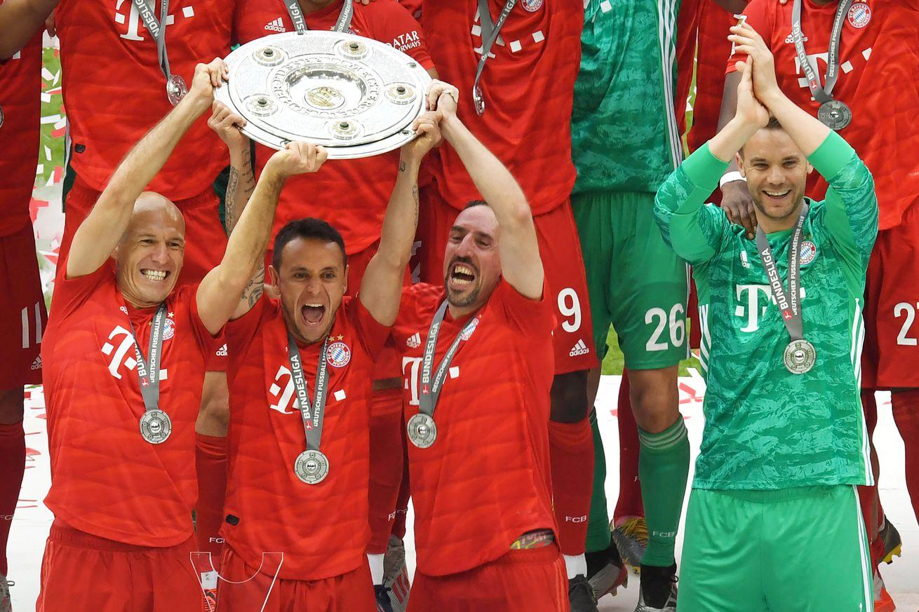 Three observations from Bayern Munich?s title-winning victory over Eintracht Frankfurt