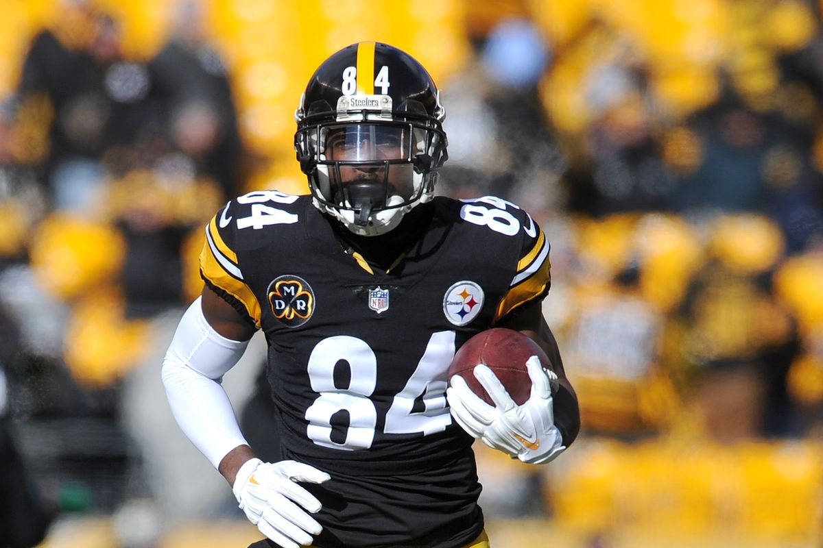 5bd8e8ddd What will it take for Antonio Brown to surpass Jerry Rice's records ...