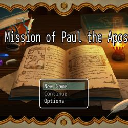 """Fifteen-year-old Levi Hilton's game, """"The Mission of Paul the Apostle,"""" walks players through the apostle's conversion and other experiences."""