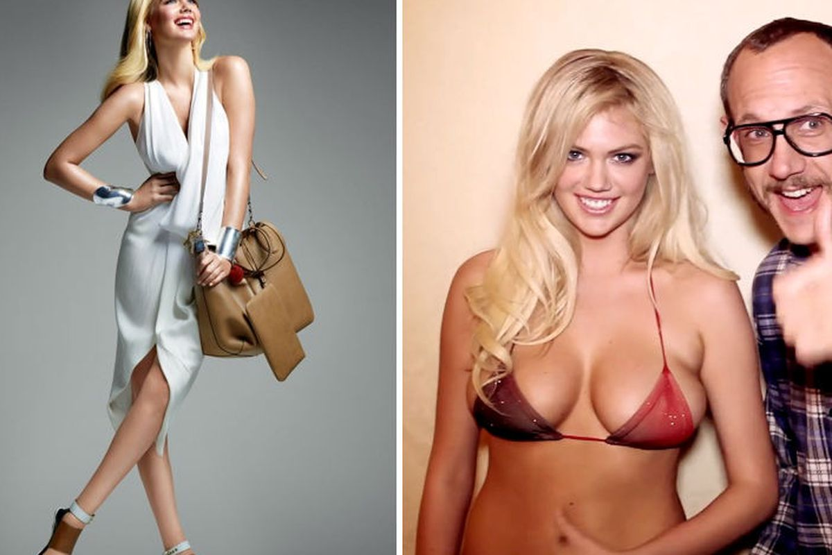 Poll How Do You Like Your Kate Upton Sexy Or Chic Racked