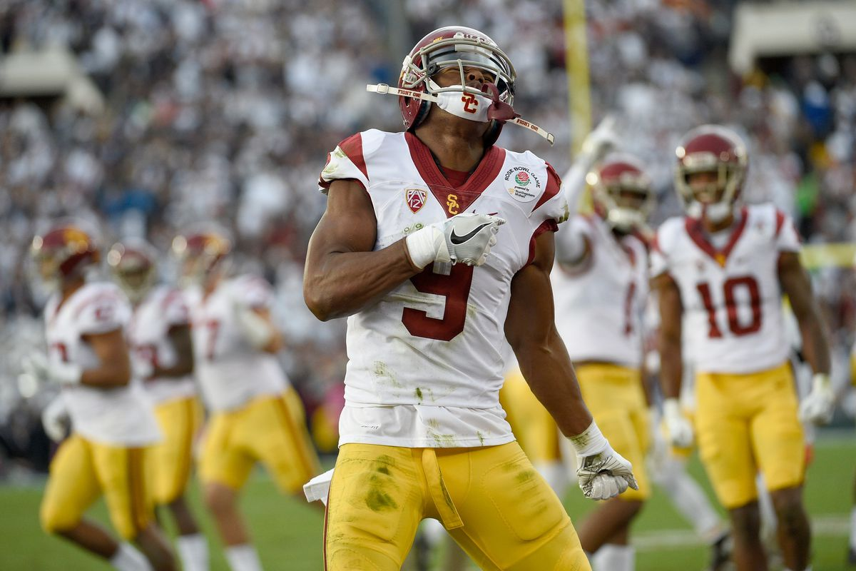"""2dcd4dc487d 2017 NFL Draft  LA Rams One Of Two Teams Who Have """"Shown Most Interest"""" In  USC WR Juju Smith-Schuster"""