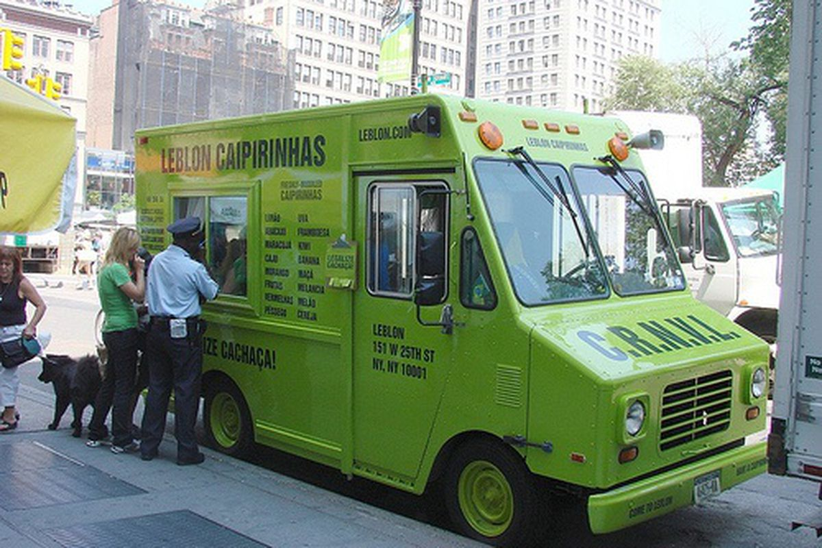 Legalize Cachaça Truck