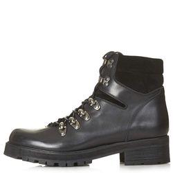 "Topshop 'Ahoy' leather hiker boots, <a href=""http://us.topshop.com/en/tsus/product/shoes-70484/boots-70514/lace-up-boots-3501003/ahoy-leather-hiker-boots-3262957?refinements=category~[1977427|208695]&bi=1&ps=200"">$145</a>"